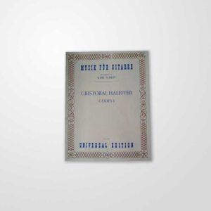 Musik-für-Gitarre-Cristobal-Halffter-Codex-I